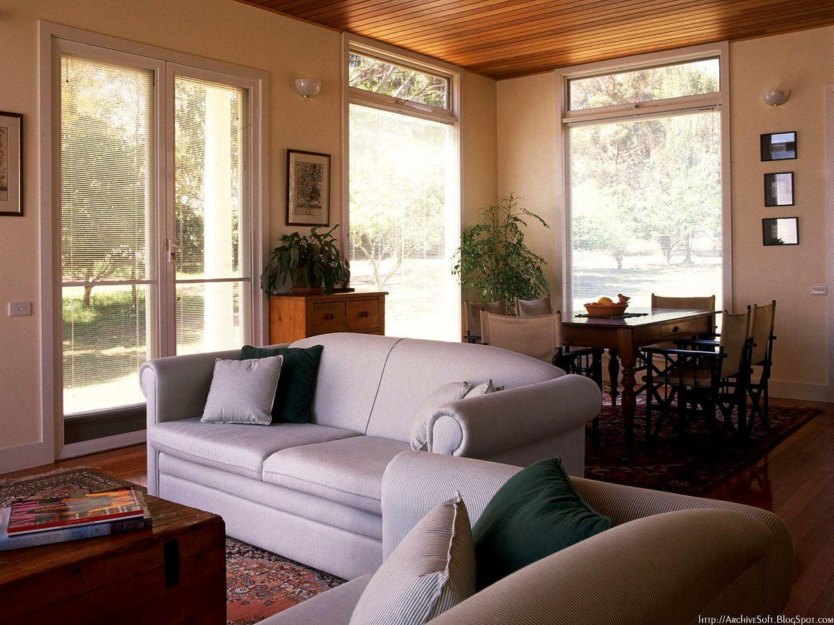 Achtergrond Modern Interieur Woonkamer Interieur Ontwerp Download Gratis Achtergronden